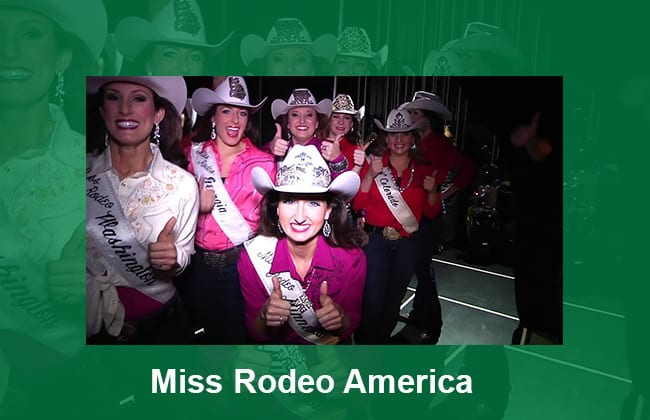 Miss Rodeo America 2020 dates