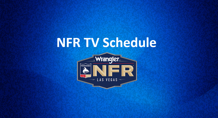 Wrangler NFR 2019: TV Schedule